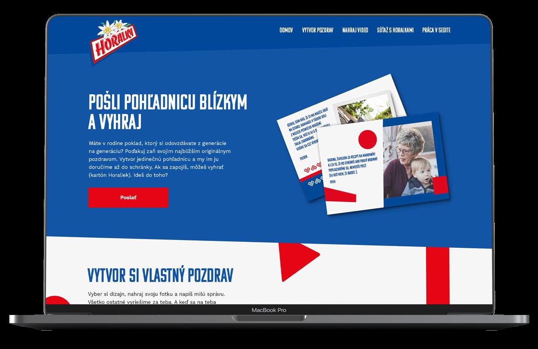 Webstránka pre horalky
